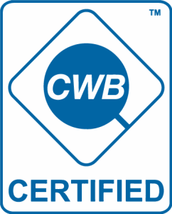 We are CWB Certified
